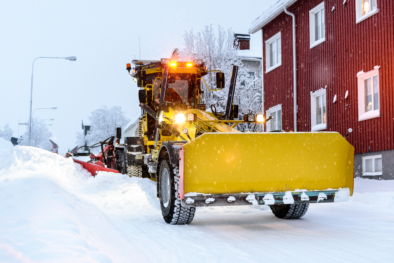 Snöröjning - Tekniska Verken i Kiruna AB